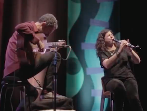 Capa do vídeo Anat Cohen e Marcello Goncalves - Nanã Coisa N. 5 (Moacir Santos)