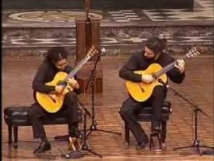 Capa do vídeo Brasil Guitar Duo
