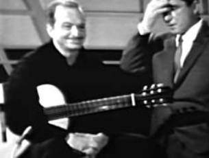 Capa do vídeo Luiz Bonfá no programa de TV de Perry Como